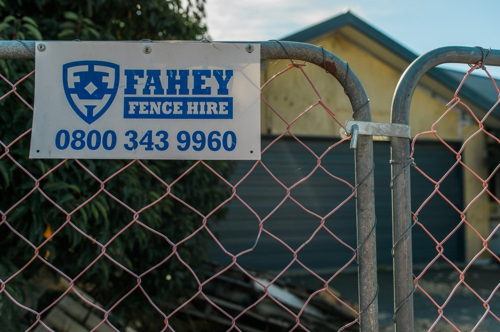 Fahey Fence Hire Canterbury New Zealand