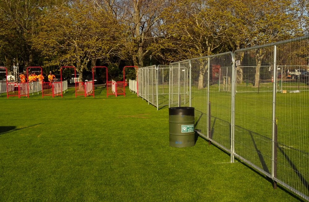 festival event gates for hire Christchurch Canterbury
