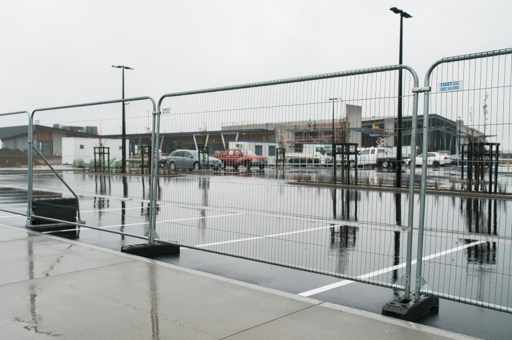 Christchurch car park fencing